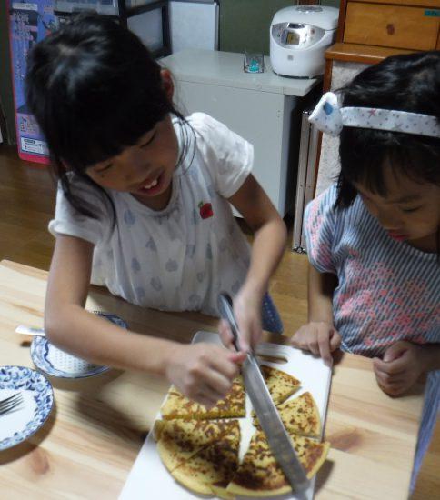 木曜くりりんくらぶ 人参ホットケーキ